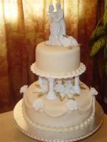 Торт весільний «Чудовий»