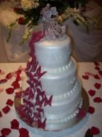 Торт весільний «Кришталевий поцілунок»