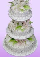 Торт весільний «Естет»