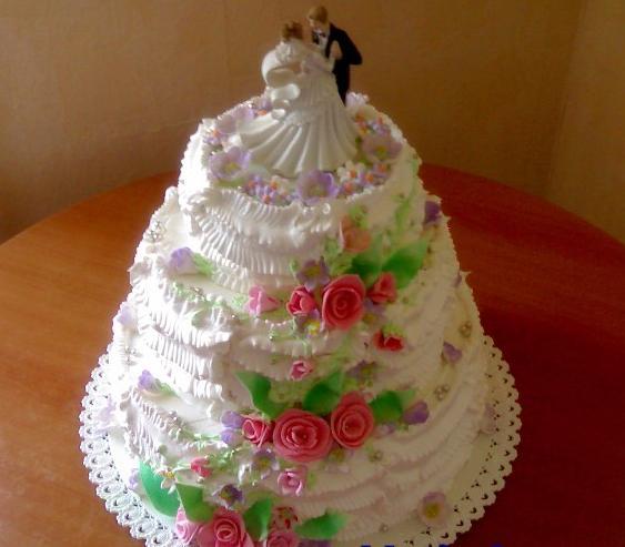 Торти весільні