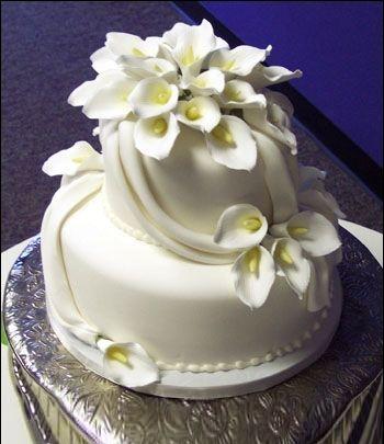 Торт весільний Пелюстка богині»