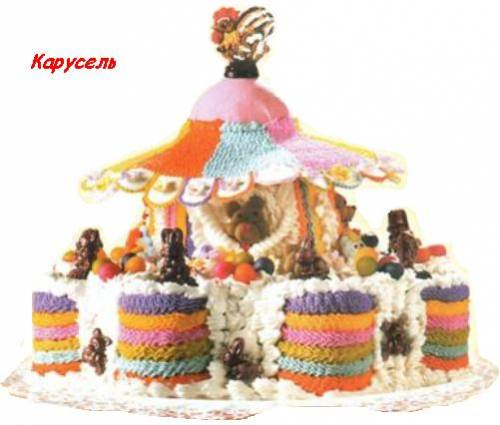 дитячий торт «Карусель»