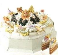 Дитячий торт «Карнавал»