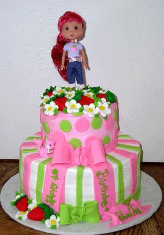 Дитячий торт «Руда красуня»