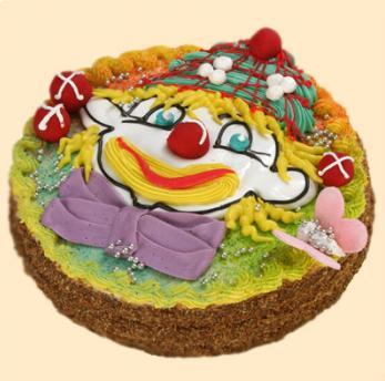 дитячий торт «Клоун Вася»