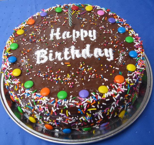 Обычный торт фото