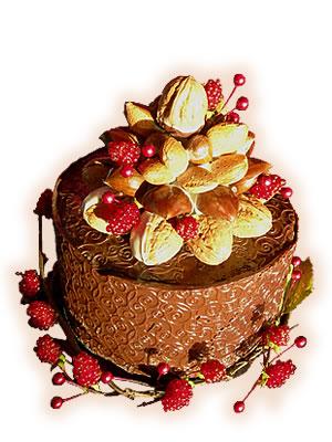 Ювілейний торт «Шоколадно-горіховий»