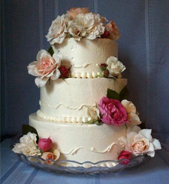 Ювілейний торт «з Троянд»