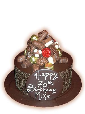 ювілейний торт «Шоколадний»
