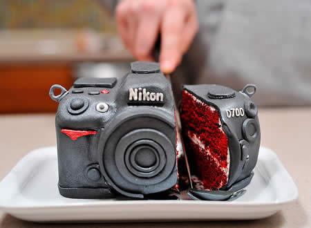 Торт корпоративний «Фотоапарат»