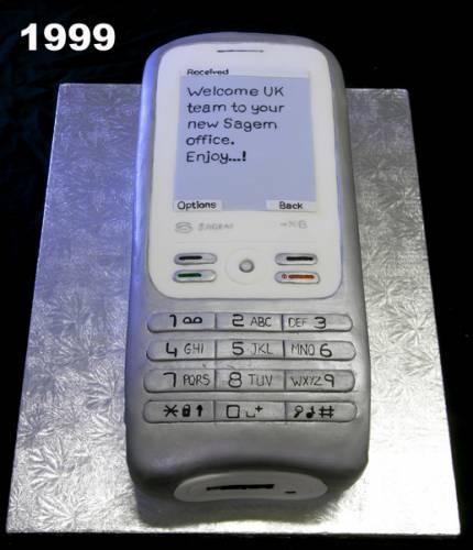 Торт корпоративний «Мобільник»